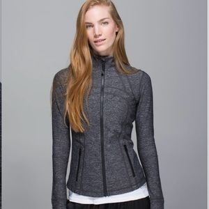 Lululemon Define Jacket Heatherd Black